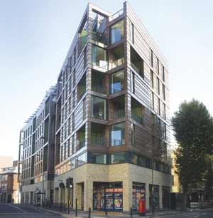 100 East Road student housing in Hoxton