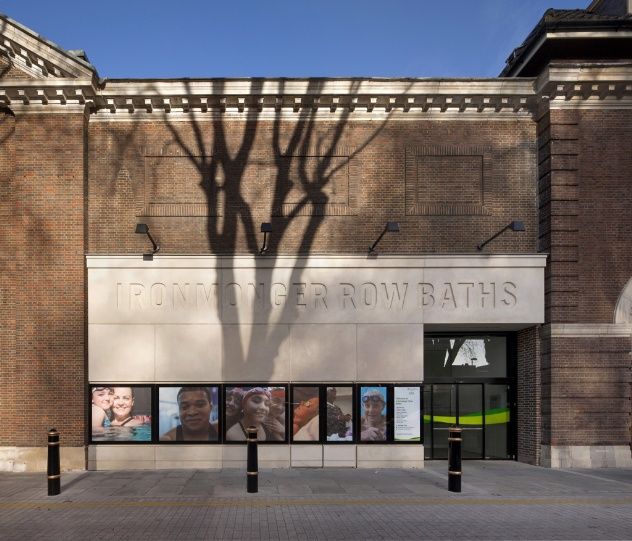 Ironmonger Row Baths by Tim Ronalds Architects