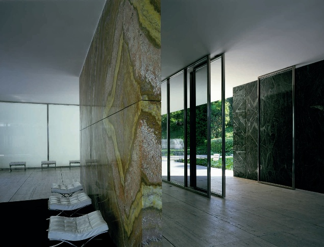 keith williams 39 inspiration the barcelona pavilion by. Black Bedroom Furniture Sets. Home Design Ideas