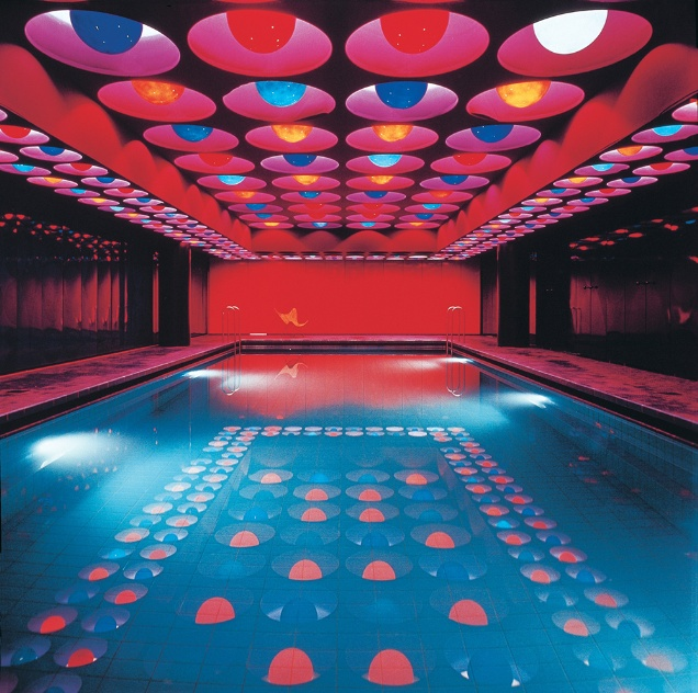 Verner Panton, Swimming Pool, 1969, Spiegel Publishing House (Hamburg)