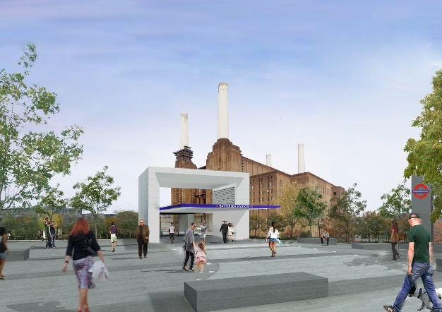 Battersea station Studiodare
