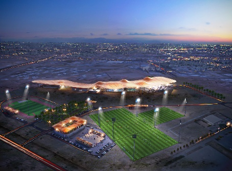 Atkins' Sultan Qaboos Sports complex