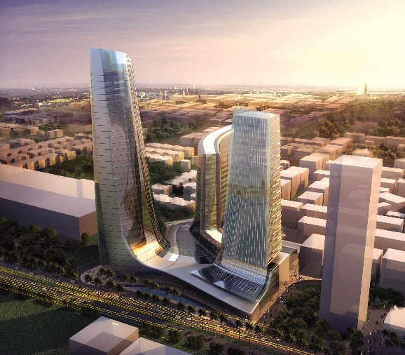 United Square, mixed use project, Abu Dhabi
