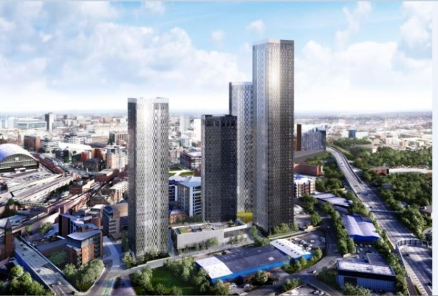 Ian Simpson 64-storey tower Manchester