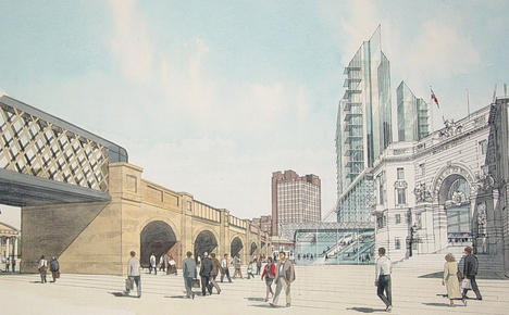 Waterloo city square pedestrianisation scheme skyscrapercity for Architecture firms waterloo