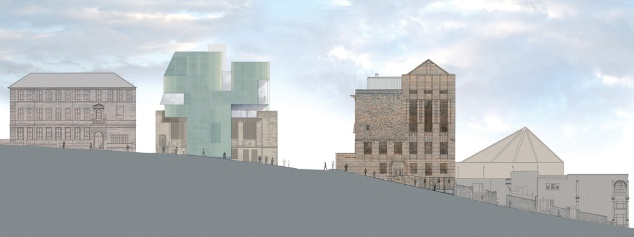 Steven Holl's extension to Glasgow School of Art