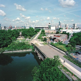 Adams and Sutherland's upgrading of east London's Greenway.