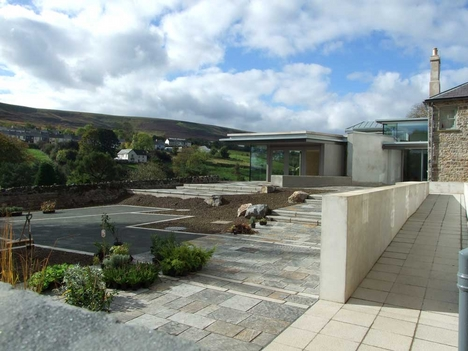 RIBA Wales award winner the Blaenavon World Heritage Centre by Purcell Miller Tritton
