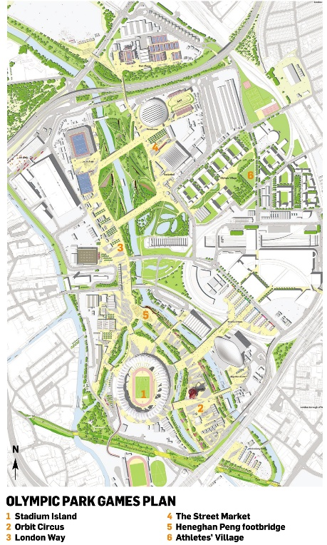 The Olympic park plan
