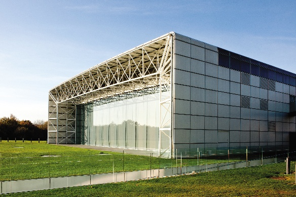 Foster Associates' Sainsbury Centre for the Visual Arts.
