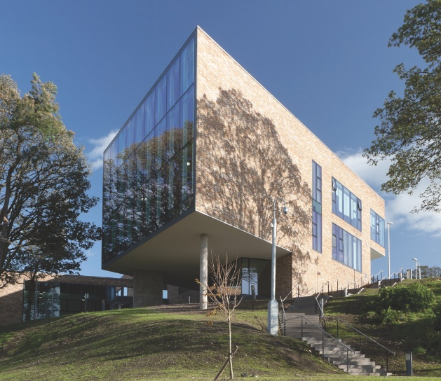 Reiach Hall's Stirling campus for Forth Valley College