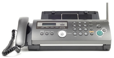 dedicated fax machine