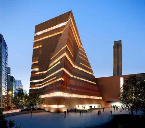 New images of herzog de meuron 39 s tate modern extension for Tate modern building design