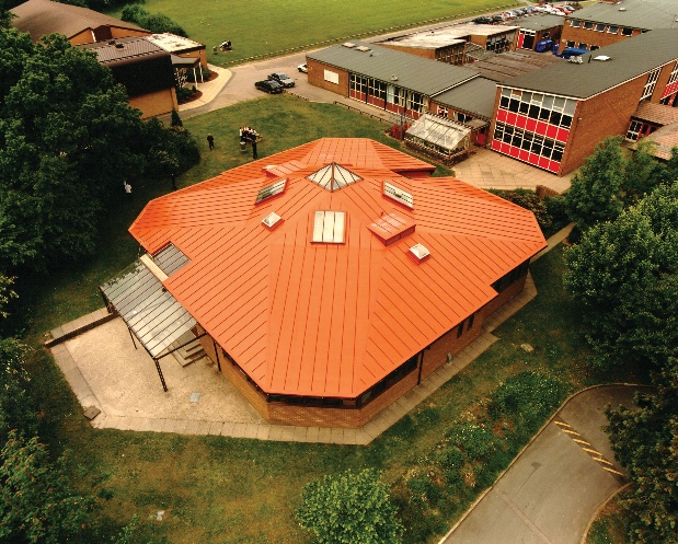 Sika Sarnafil's roofing products were specified at Bishop's Castle Community College in Shropshire.