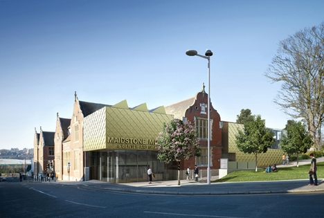 Hugh Broughton Architects' £2.7 million Maidstone Museum project