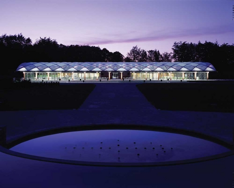 RIBA North East: Alnwick Garden Pavilion by Hopkins Architects