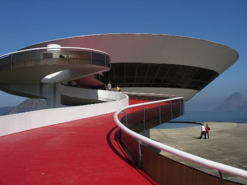 Niteroi museum of contemporary art, Brazil, 1996