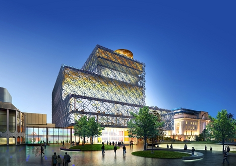 Proposed design of the new Library of Birmingham