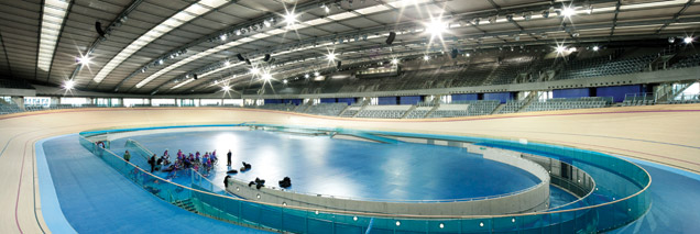 Veldrome track