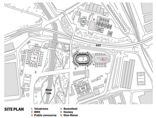 Olympic Park site plan