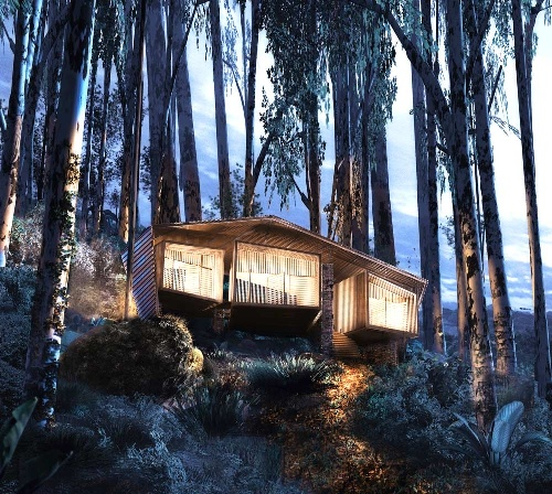 Tourist accommodation to be built in the Bukit Lawang National Park in Sumatra, Indonesia