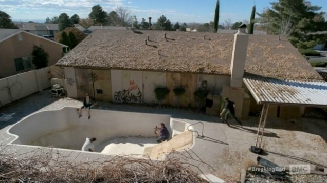 the architecture of breaking bad features building design
