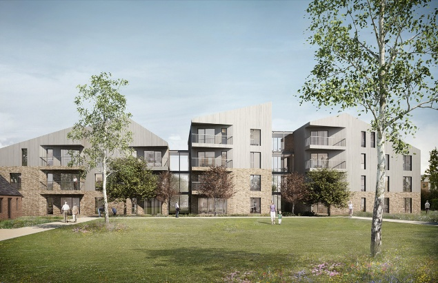 Bell phillips architects wins planning for elderly housing for Handicapped housing