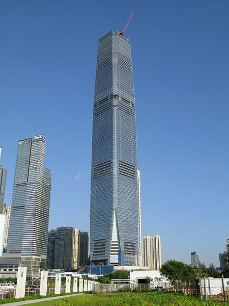 International Commerce Centre tower