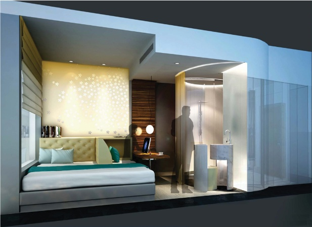 bd small hotel rooms for change features building design