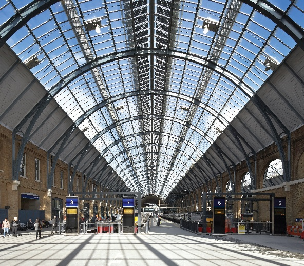 King's Cross western concourse by John McAslan and partners