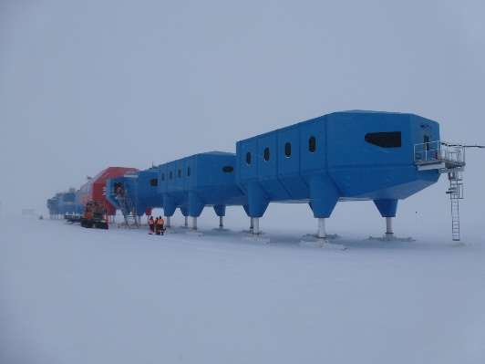 Hugh Broughton's Halley VI in Antarctica