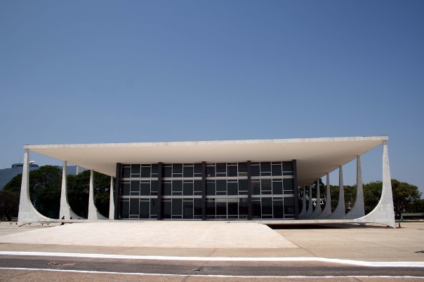Supreme Federal Court, Brasilia, 1960, Oscar Niemeyer