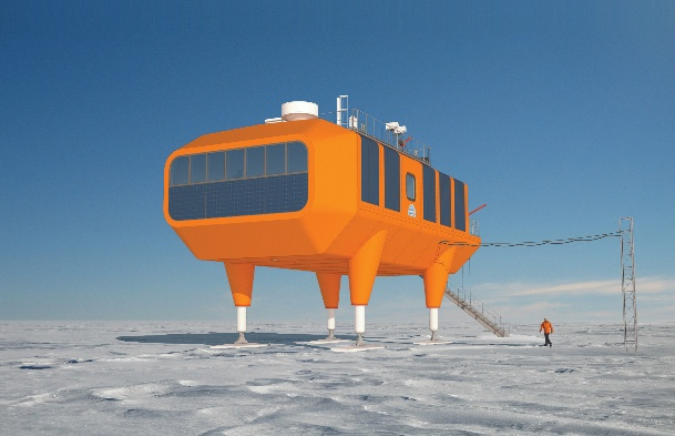 The Halley VI Antarctic Research Station