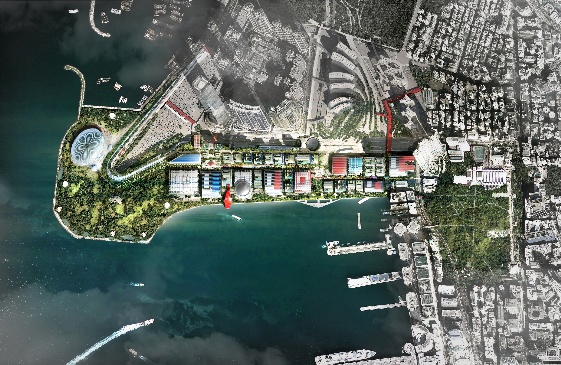 Masterplan for West Kowloon