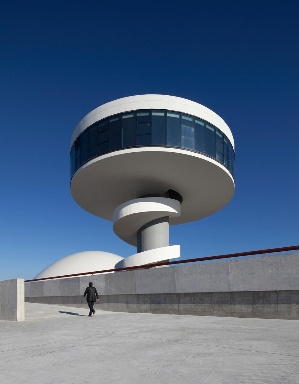 Centro Niemeyer, Aviles, Spain