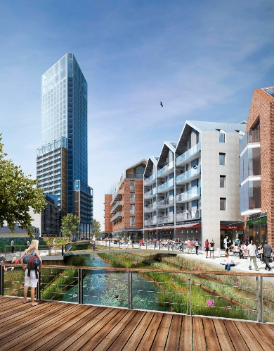 EPR Architects' redevelopment of the Ram Brewery site in Wandsworth