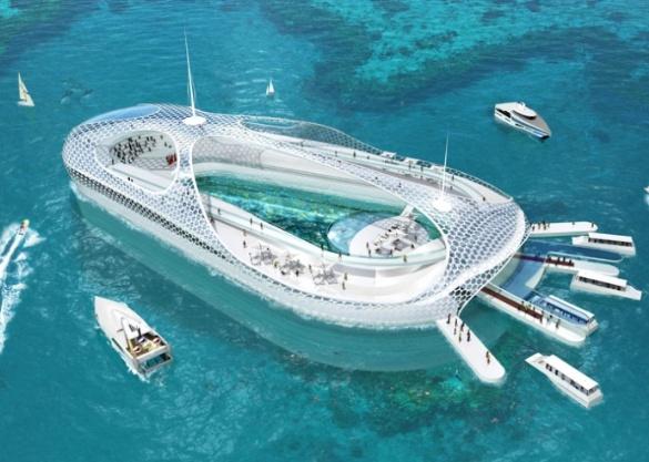 Fine Underwater Hotel World Resort With Design Inspiration