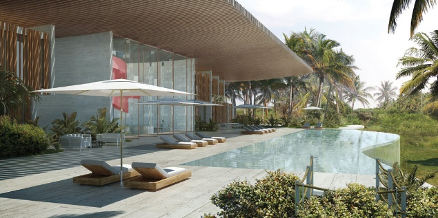 Lekki beach house, Nigeria, by Studio Seilern Architects
