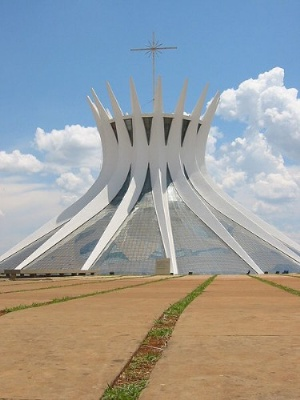Brasilia Cathedral, Oscar Niemeyer