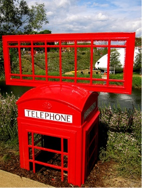 Olympic phone box