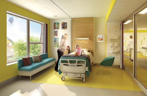 A Hospital Designed By Children Wikoff Design Studio