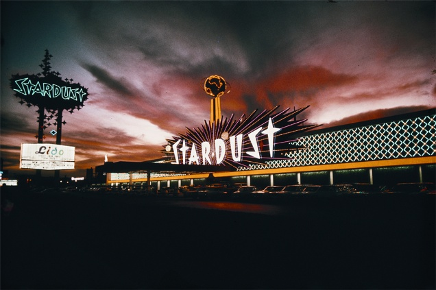Stardust Hotel and Casino, Las Vegas, by Venturi, Scott Brown + Associates (1968).