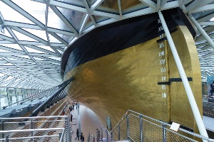 The Cutty Sark by Grimshaw