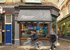 Flavour's first café opened on a prime site in Brewer Street, central London.
