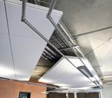 Armstrong Axiom Canopy clouds are used to enhance acoustics.