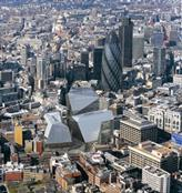 Foreign Office Architects' scheme proposes 900,000sq m of office space in the three buildings in the heart of the City of London.