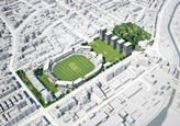 Herzog & de Meuron's original masterplan for Lord's