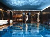 The ESPA Life spa at  London's Corinthia Hotel, lit by Lighting Design International.