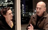 Ellen van Loon and Rem Koolhaas of OMA at the Rothschild HQ in London.