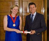 Sebastian Coe and Ruth Reed